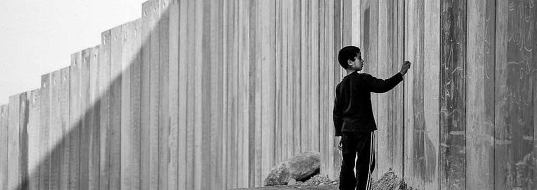 boy at 1948-nakba-wall