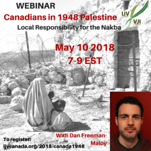 Canadians in 1948 Palestine: Local Responsibility for the Nakba